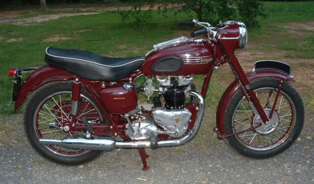 1955 Triumph 5T SpeedTwin rcycle.com