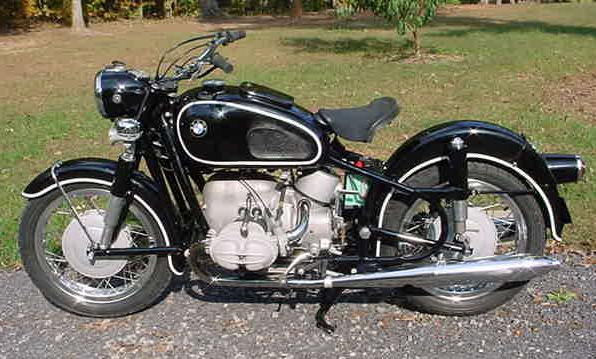 1962 BMW R69S rcycle.com