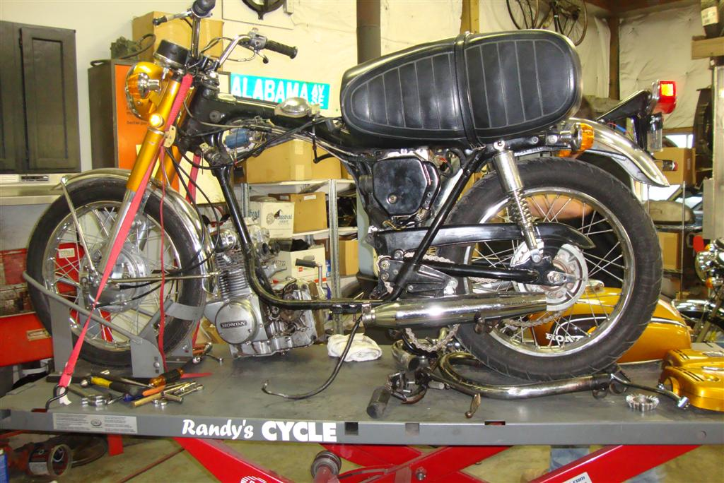 1971 Honda Cb350 Points