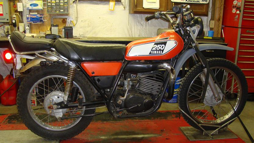 Randy S Cycle Service Amp Restoration 1975 Yamaha Dt250 Enduro