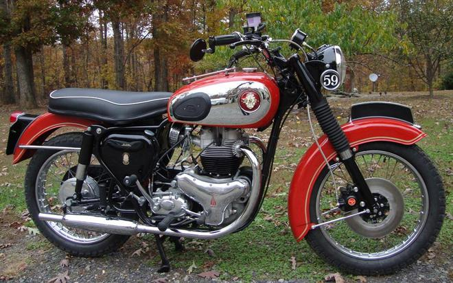1960 BSA Super Rocket A10SR  with Electric Starter rcycle.com