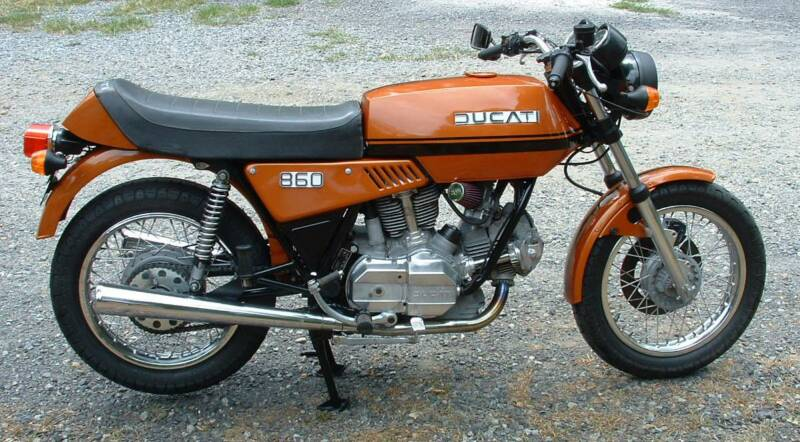 1972 Ducati 860 GT  rcycle.com