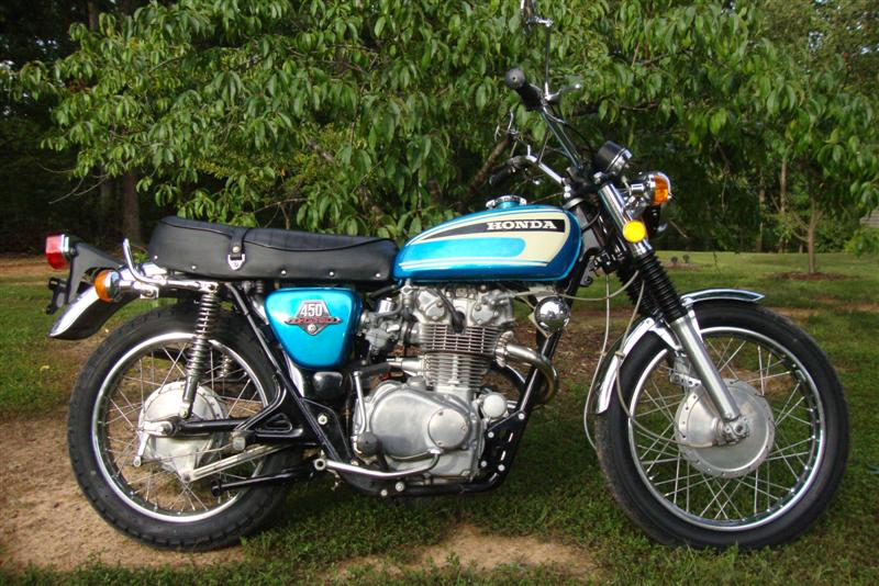 1974 Honda CL 450 K6 Randy's Cycle Service & Restoration