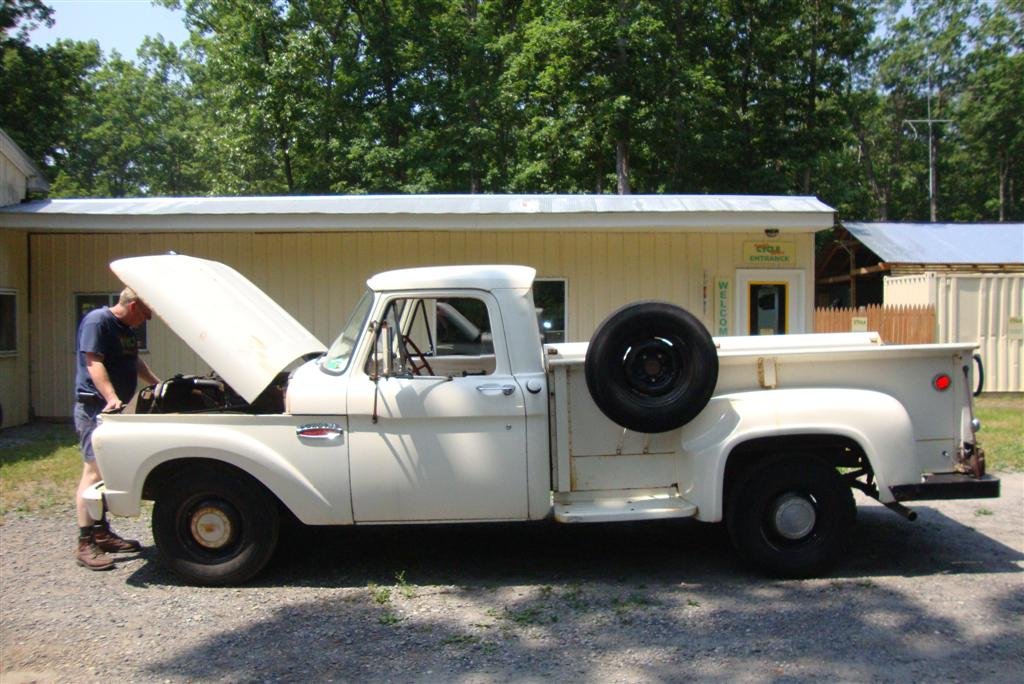 Randy S Cycle Service Restoration 1965 Ford F100 Stepside Truck