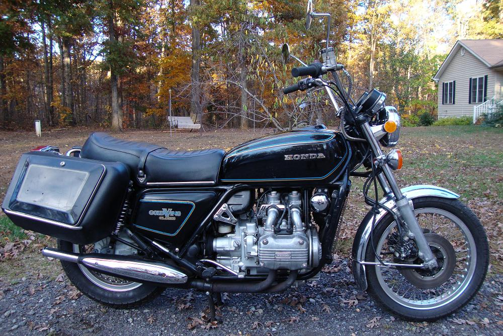 1977 Honda Goldwing GL1000 rcycle.com