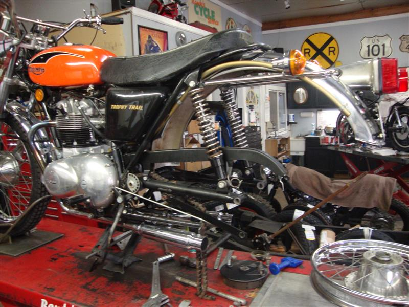 Labor Hours To Replace Transmission >> Randy's Cycle Service & Restoration: 1974 Triumph TR5T ...