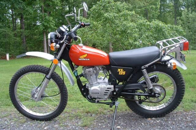randy 39 s cycle service restoration 1974 honda xl 125. Black Bedroom Furniture Sets. Home Design Ideas