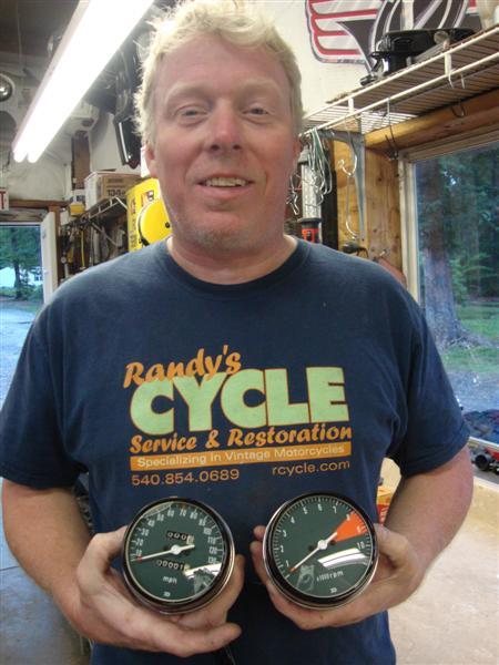 Randy's Cycle Service & Restoration: Honda CB750 Gauge