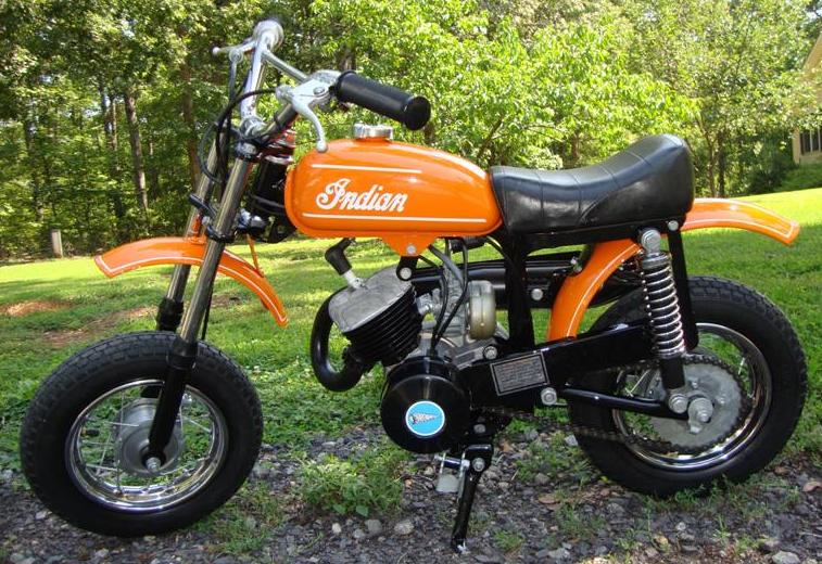 Randy S Cycle Service Restoration 1973 Indian Mm5a 50cc