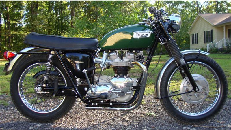 Randy U0026 39 S Cycle Service  U0026 Restoration  1967 Triumph