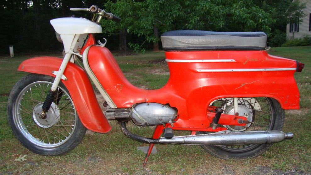 1964 Jawa Type 05A Pionyr rcycle.com