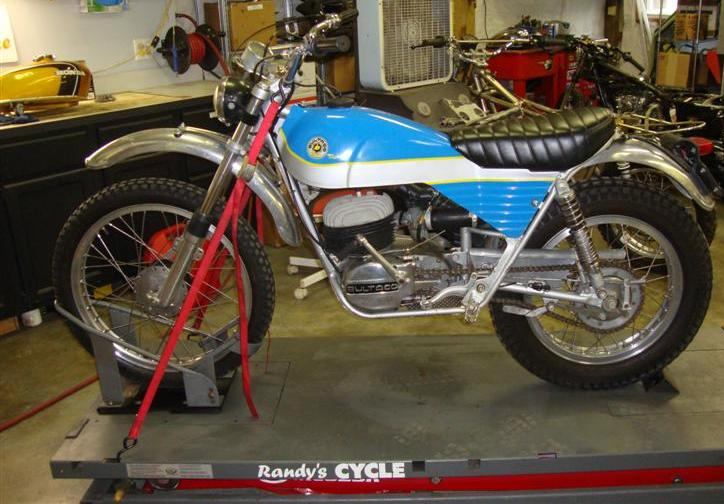 Randy's Cycle Service & Restoration: 1972 Bultaco Alpina
