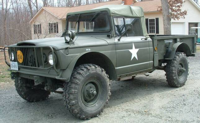 Jeep M715 for Sale http://www.rcycle.com/restoration.html