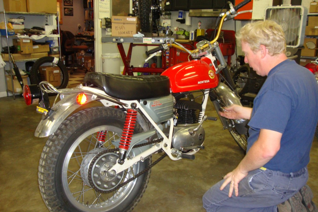 Randy s Cycle Service amp Restoration 1971 Montesa King