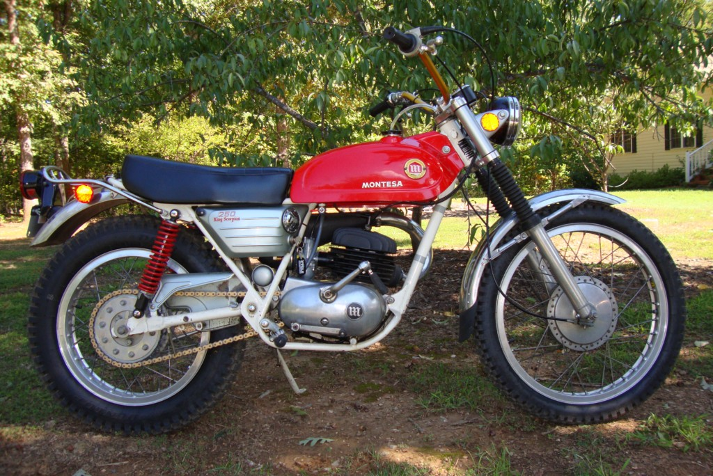 1971 Montesa King Scorpion 250 rcycle.com
