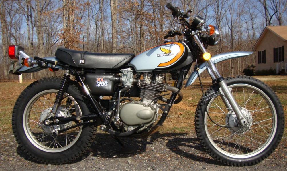 1974 Honda XL 250K1 Rcycle.com