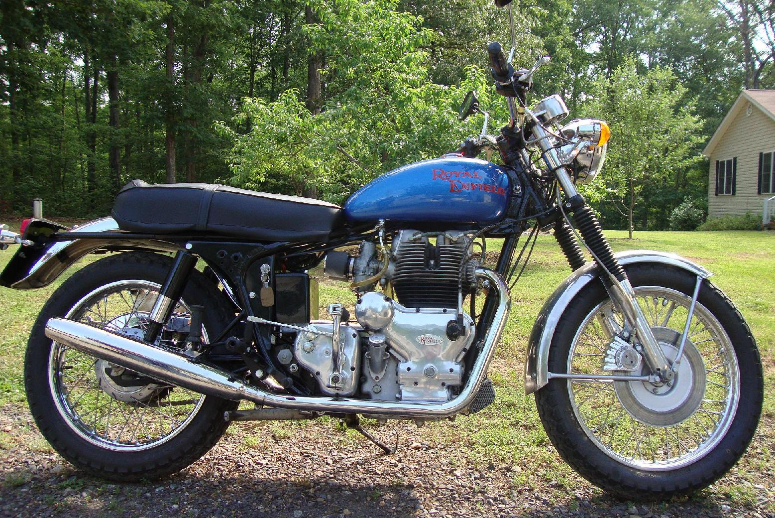 1968 Royal Enfield Interceptor MK1A rcycle.com