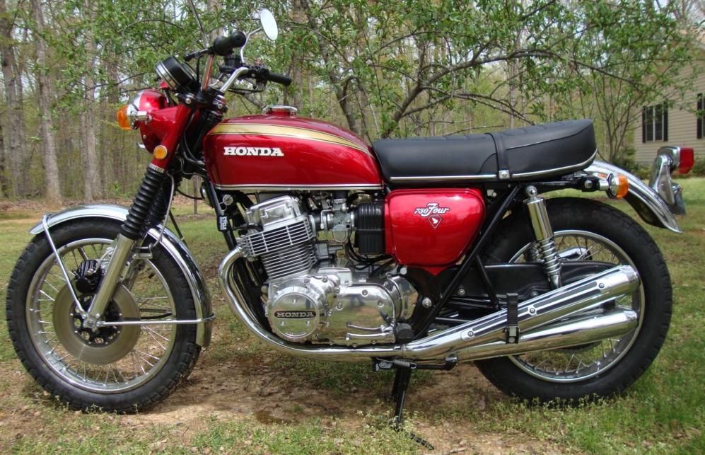 Randys Cycle Service Restoration 1971 Honda CB750 Four K1