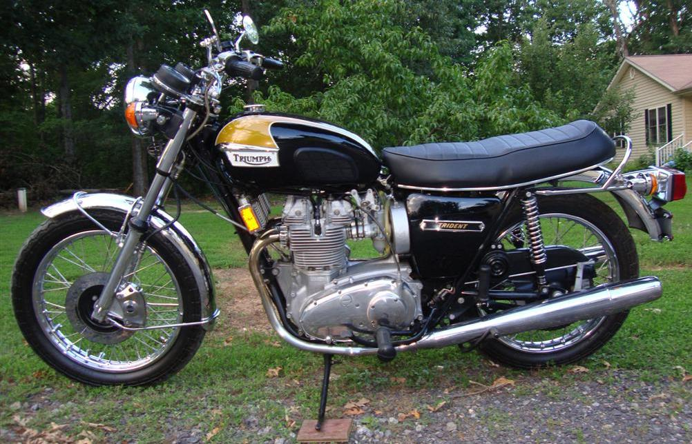 Randy's Cycle Service & Restoration: 1974 Triumph Trident