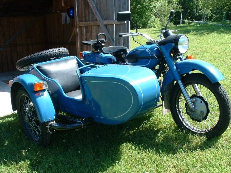 1994 Ural M66 with Sidecar rcycle.com