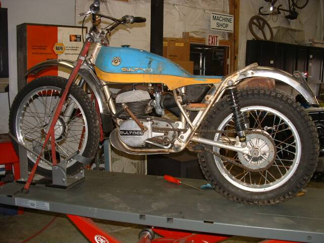 Randy's Cycle Service & Restoration: 1974 Bultaco Alpina 250cc