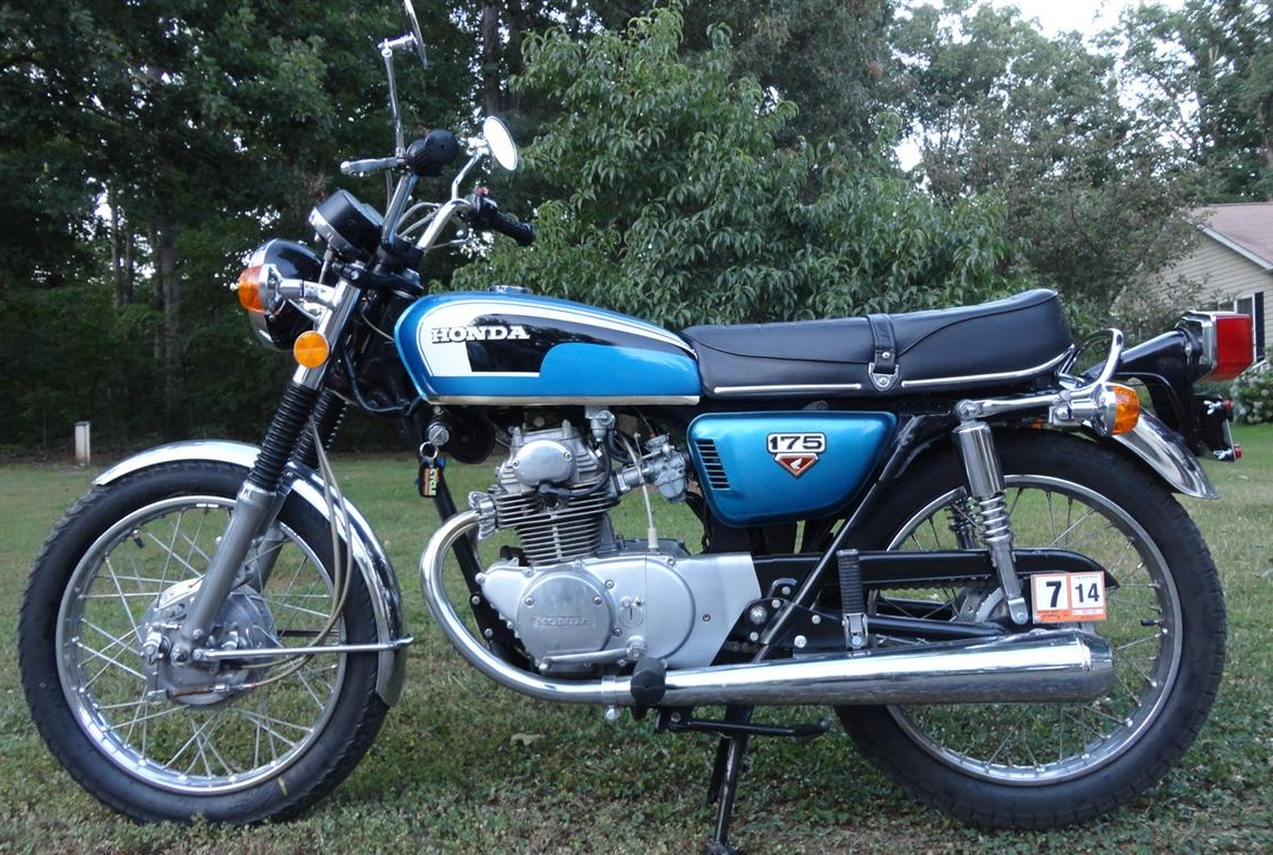 Randys Cycle Service Restoration 1973 Honda Cb175 K7 Wiring Diagram By