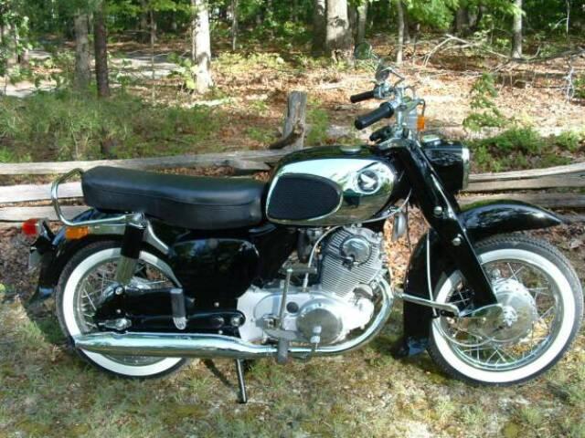 Randy's Cycle Service & Restoration: 1966 Honda Dream 305 CA77
