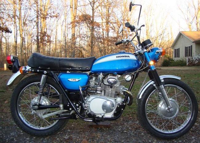 Vintage Honda Motorcycle Parts >> Randy's Cycle Service & Restoration: 1970 Honda CL175